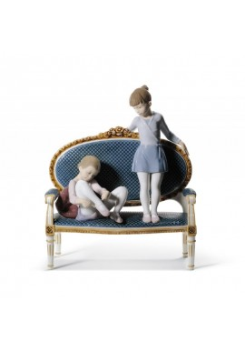 Lladro Figurines, Lladro porcelaine figurines - Ready for Practice