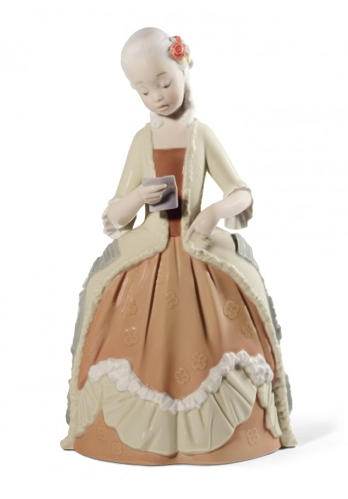 Rococo Girl with Letter