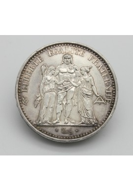 1968 Republic of France 10 Francs Silver Coin