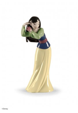 Collectible porcelain figurines and bronze sculptures - Mulan Figurine