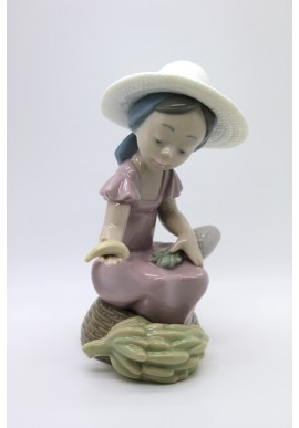 Nao Porcelain Figurines from the Around the World Collection - Tropical Vendor