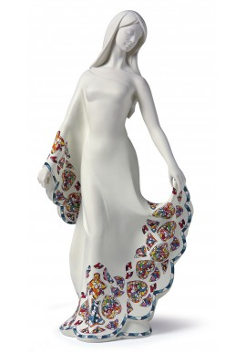 Collectible porcelain figurines and bronze sculptures -