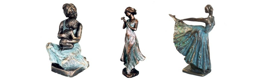 Ebano Bronze Sculptures from the Jordá Collection