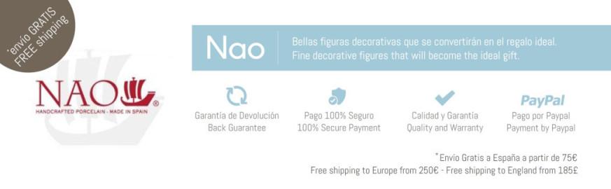Figuras Decorativas de Porcelana Nao. Entra y Descubre la Colección Completa - Descuentos Disponibles!