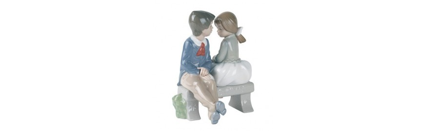 Porcelana Nao Colección de Amor
