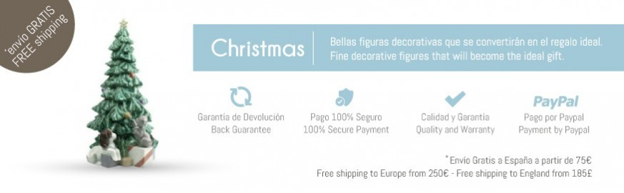 Nao Porcelain Figurines from the Christmas Season Collection
