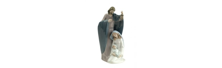 Nao Porcelain Figurines from the Religion Collection