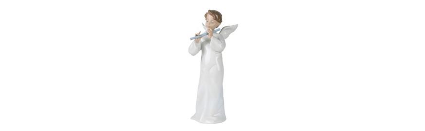 Figura de Porcelana Nao de la Colección Ángeles