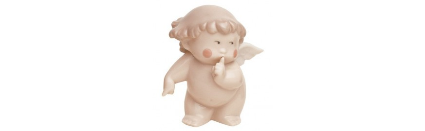 Figuras de Porcelana Nao de la Colección Bocaditos de Cielo